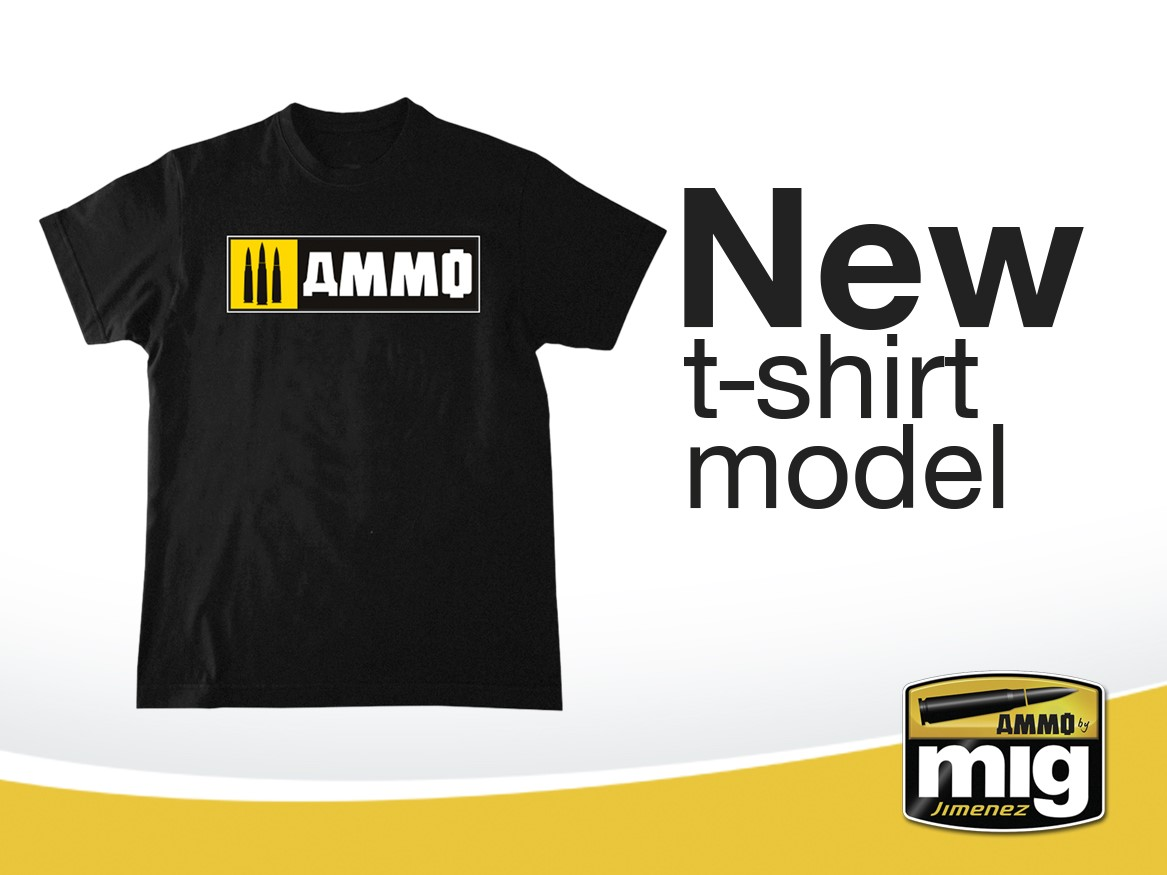 New T-Shirt model - AMMO Easy Logo