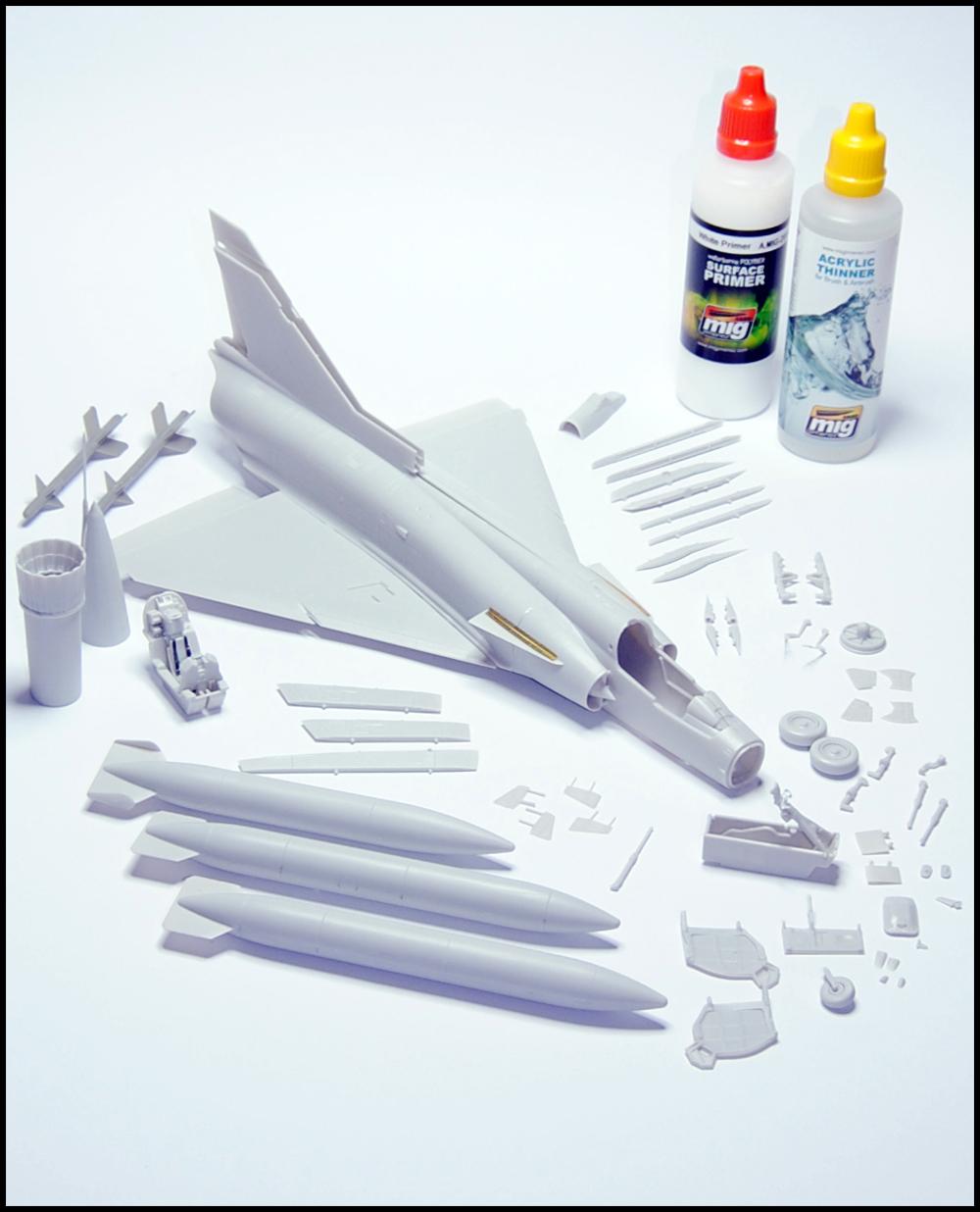 Pintando un kfir c1 utilizando el set IAF colores acrilicos de ammo