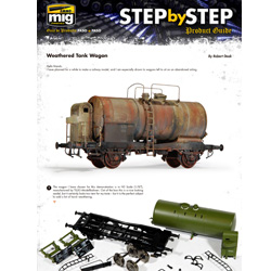 Download Step by Step - Weathered Tank Wagon