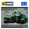 1/72 British Armoured Car, Austin, MK IV, WW I Era