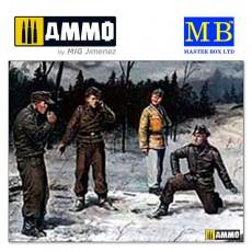 1/35 German tank crew (1943-1945) Kit No1
