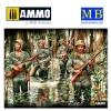 1/35 US Marines in Jungle, WW II era