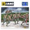 """1/35 Move, move, move!!!"""" US Soldiers, Operation Overlord period, 1944"""