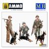 1/35 Dogs in service in the US Marine Corps, WW II era
