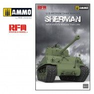1/35 M4A3 76W HVSS Sherman with full interior & workable track links