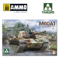 1/35 M60A1 U.S .ARMY MAIN BATTLE TANK