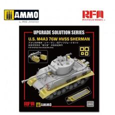 1/35 U.S. M4A3 76W HVSS SHERMAN FOR RYEFIELD RM-5028/RM-5042