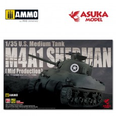 1/35 M4A1 SHERMAN MID PRODUCTION