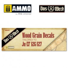 Wood Grain Decals for Elli - DW32001