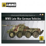 ILLUSTRATED GUIDE OF WWII LATE GERMAN VEHICLES (English, Spanish)
