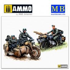 1/35 Kradschützen: German Motorcycle Troops on the Move