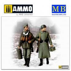 1/35 Supplies, at last! German soldiers, 1944-1945