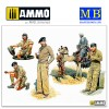 1/35 English troops in Northern Africa, WWII era