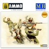 1/35 Hand-to-hand fight, British and German Infantry. Battles in Northern Africa. Kit 1
