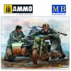 1/35 German Motorcyclists, WWII era