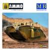 1/72 MK I Female British Tank, Special Modification for the Gaza Strip