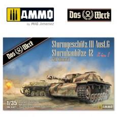 StuG III / StuH 42 mit Zimmerit  (2 in 1)