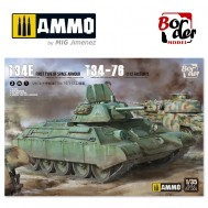 Limited Edition T-34E & T-34/76 (Factory 112) - 2 in 1