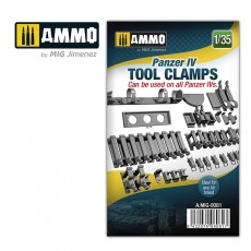 1/35 Panzer IV tool clamps