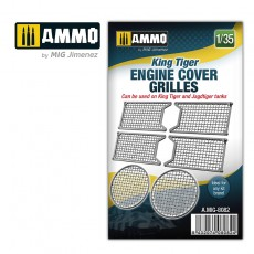 1/35 King Tiger engine cover grilles