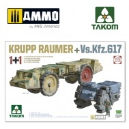 1/72 KRUPP RAUMER+Vs.Kfz.617 (1+1)