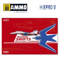 """1/48 MIG-29  9-13 Fulcrum C """"Russian Swifts"""" /w special Mask & Decal"""