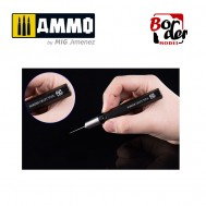 Metal tool handle (black)