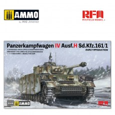 1/35 Pz.kpfw.IV Ausf.H early production w/workable track links