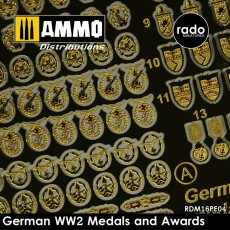 German WW2 Medals and awards set