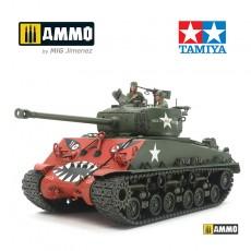 1/35 Korean war U.S. Medium Tank M4A3E8 Sherman
