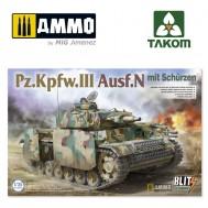 1/35 Pz.Kpfw.III Ausf.N mit Schürzen