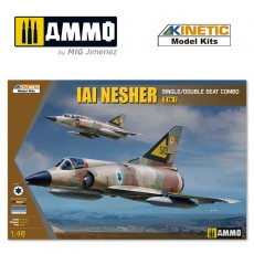 1/48 IAI NESHER (2-IN-1, Single/Double seat combo)