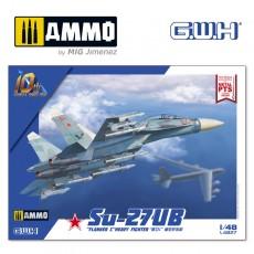 "Su-27UB ""Flanker C"" Heavy Fighter"
