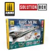 HOW TO PAINT BARE METAL AIRCRAFT. COLORS AND WEATHERING SYSTEM SOLUTION BOX