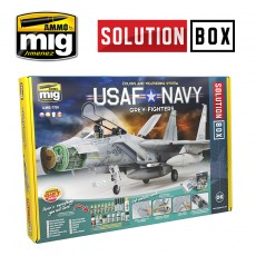 USAF / NAVY GREY FIGHTERS SOLUTION BOX