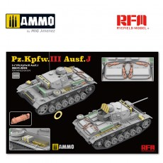 1/35 Upgrade Kit For RFM5070 PZ.III AUSF.J