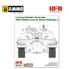 1/35 WORKABLE TRACK LINKS FOR CHALLENGER 2