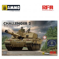 1/35 British main battle tank Challenger 2 w/workable track links