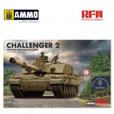 1/35 British main battle tank Challenger 2 w/workable track links