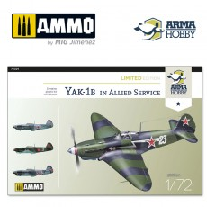1/72 Yak-1b Allied Service Limited Edition