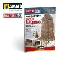 How to Paint Brick Buildings. Colors & Weathering System Solution Book (Multilingual)