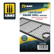Lee/Grant engine grille universal, scale 1/35