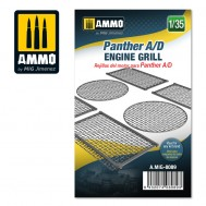 Panther A/D engine grilles, scale 1/35