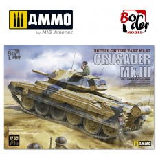 1/35 British Cruiser Tank Crusader MkIII