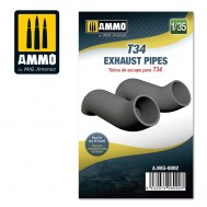 1/35 T34 Exhaust Pipes