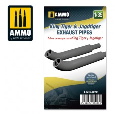 1/35 King Tiger & Jadtiger Exhaust Pipes