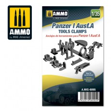 1/35 Panzer I Ausf.A Tools Clamps