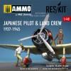 1/48 Japanese pilot & land crew 1937-1945 (WW2)