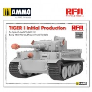 1/35 Tiger I initial production early 1943 without interior