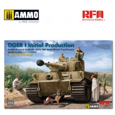 1/35 Tiger I initial production early 1943 w/full interior